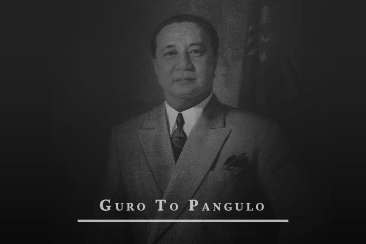 Elpidio Quirino Guro To Pangulo